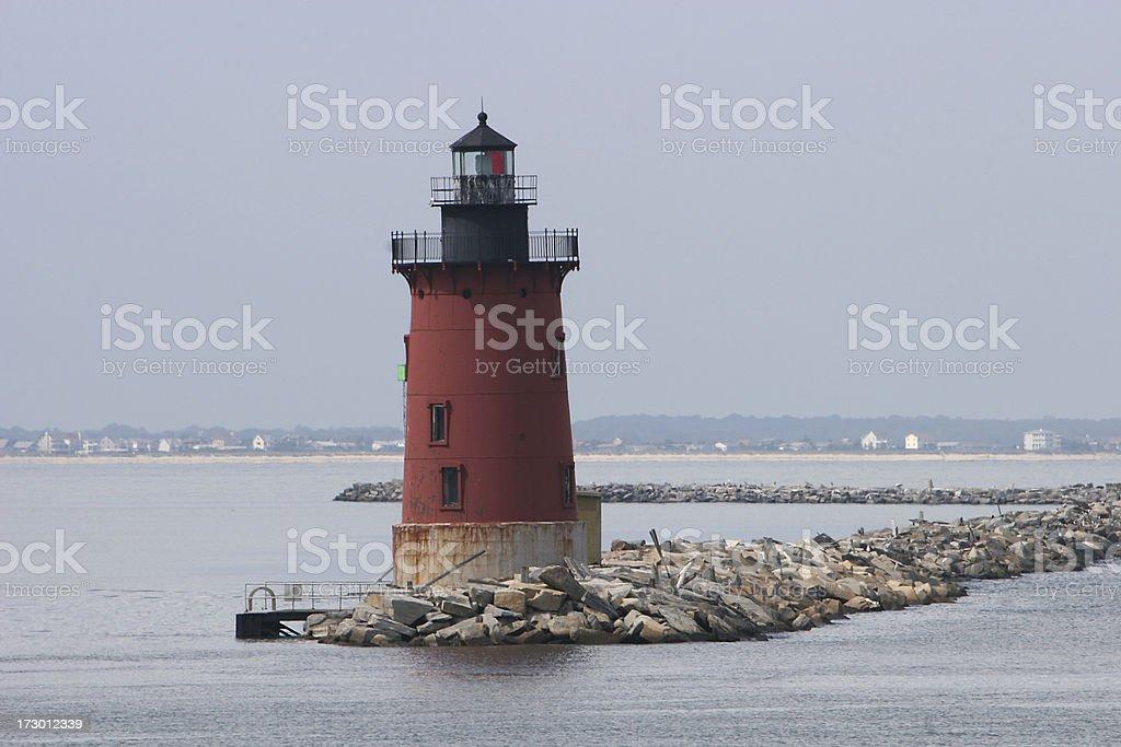 cape henlopen lighthouse stock photo
