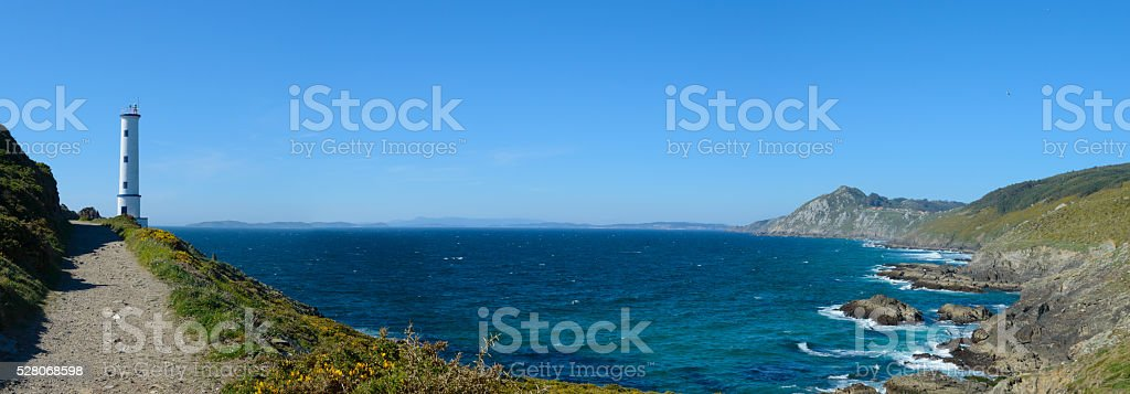 Cabo home y costa de la vela. stock photo