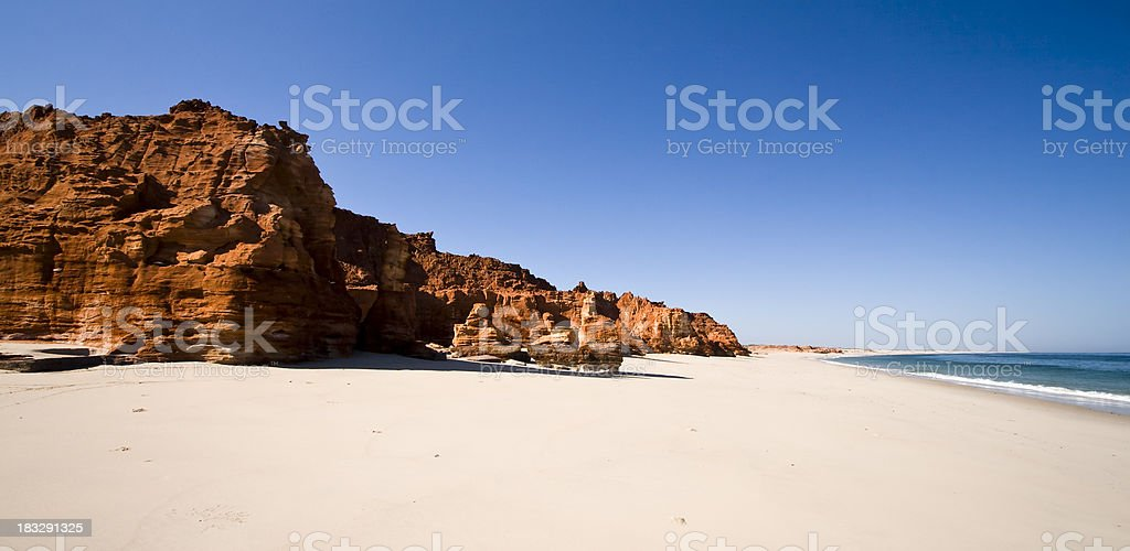 Cape Leveque Cliffs stock photo