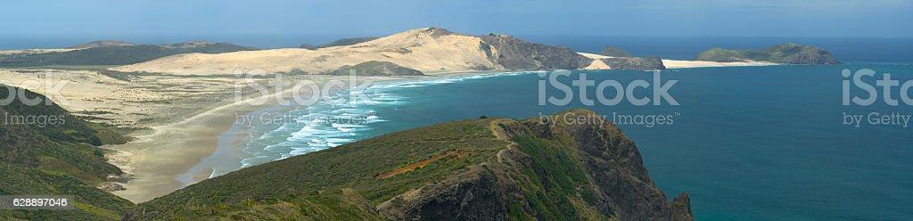 Cape Maria van Diemen stock photo