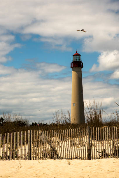 Cape May Lighthouse. New Jersey stock photo