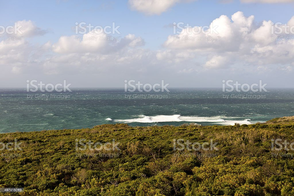 Cape Naturaliste and View from the Lighthouse royalty-free stock photo