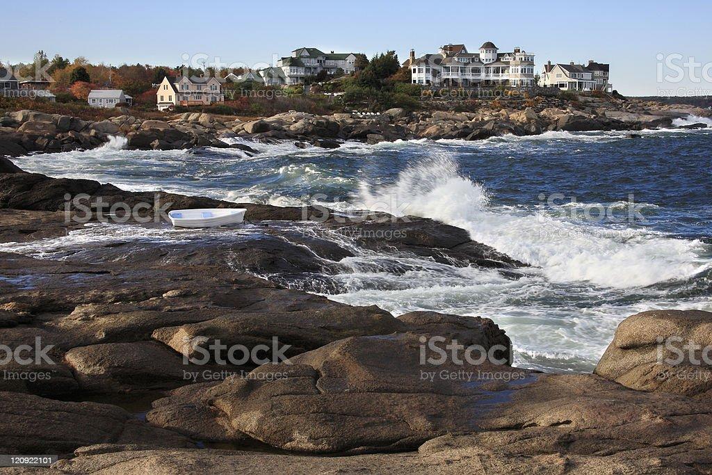 Cape Neddick, Maine royalty-free stock photo