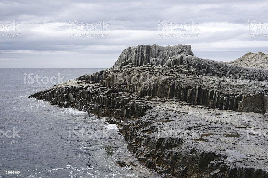 Cape of column stone stock photo