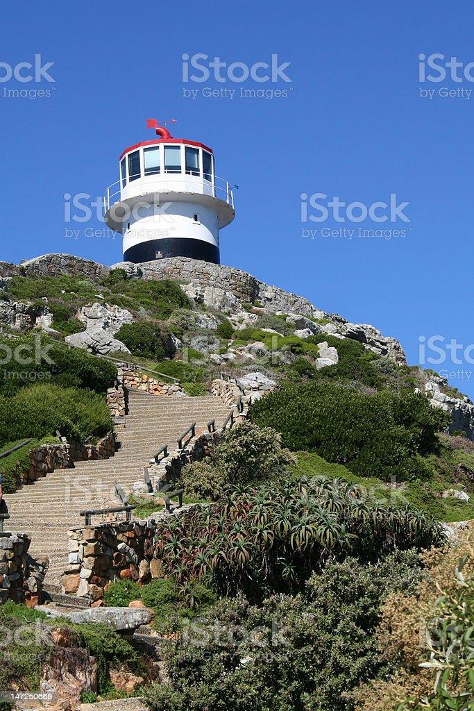 Cape of Good Hope lighthouse stock photo
