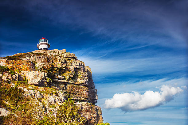 Cape of Good Hope Cape of Good Hope, lighthouse on the south -western point of Africa, travel and tourism concept headland stock pictures, royalty-free photos & images