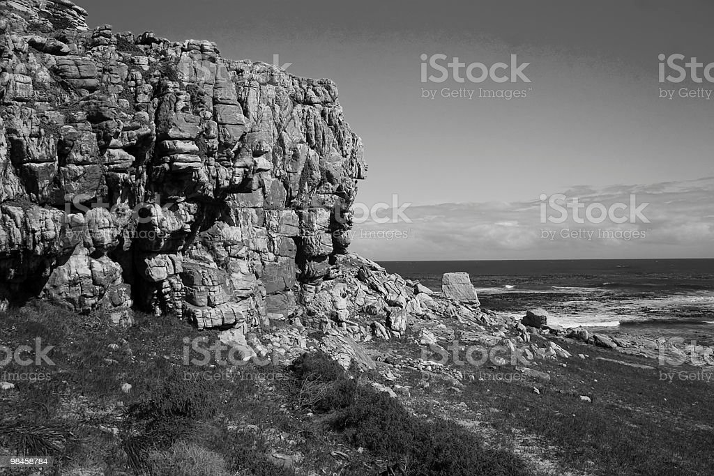 Cape of good hope South Africa royalty-free stock photo