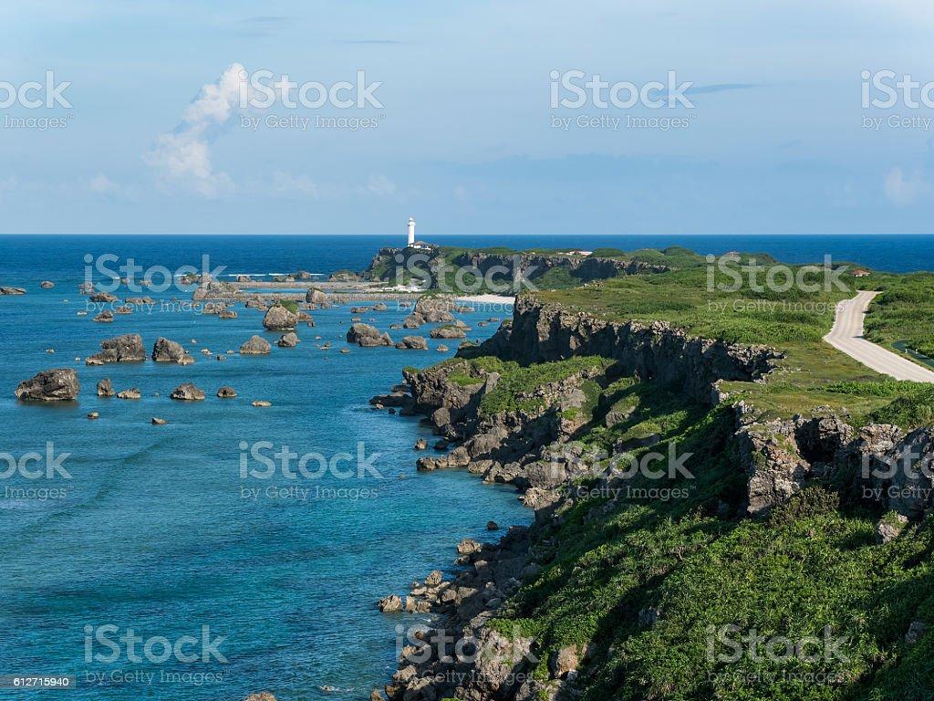 Cape of Higashi Henna Zaki stock photo
