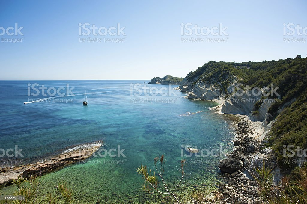 Cabo de la Nao stock photo