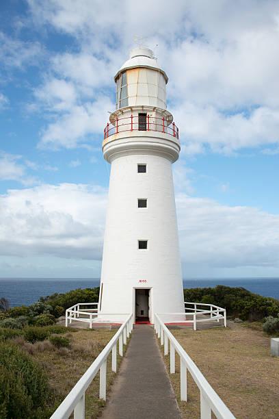 Cape Otway Lighthouse, Australia stock photo