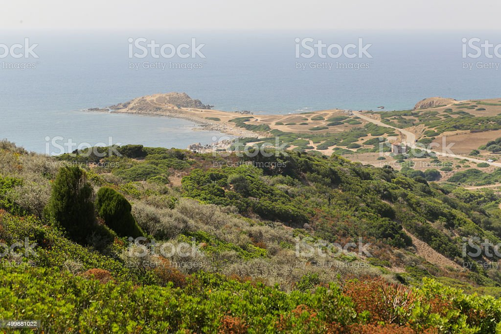 Capo Pecora Sardinia stock photo