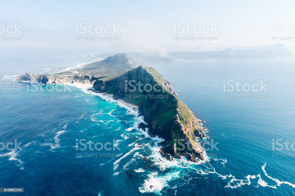 Cape Point and Cape of good hope (South Africa) stock photo