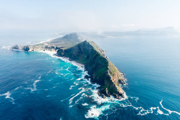 cape point and cape of good hope (south africa) - cape peninsula stock pictures, royalty-free photos & images