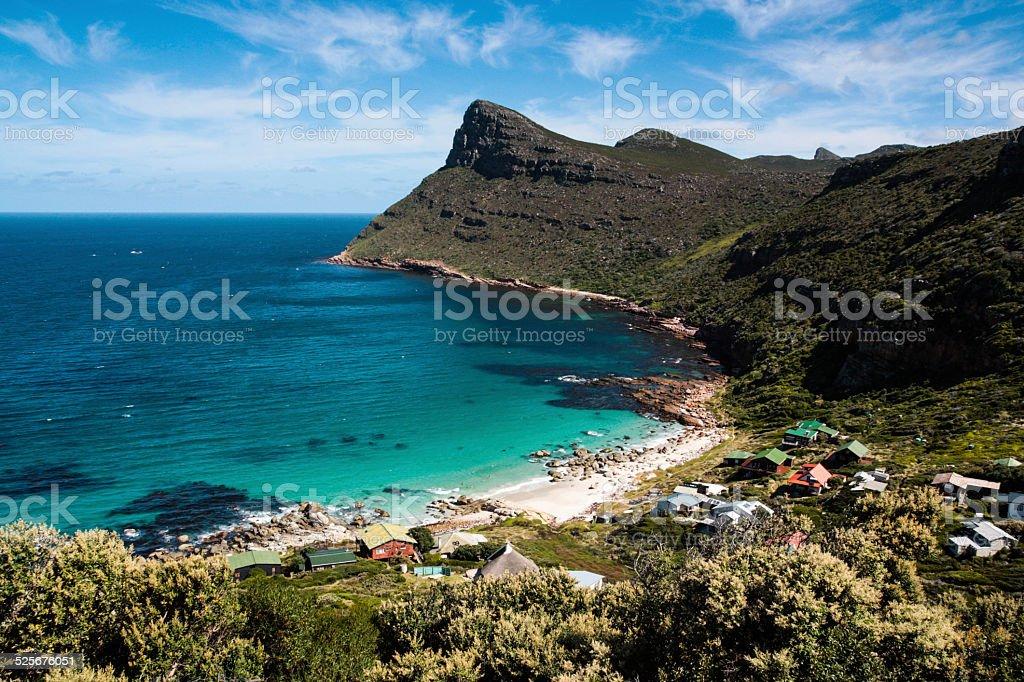 Cape Point shoreline stock photo