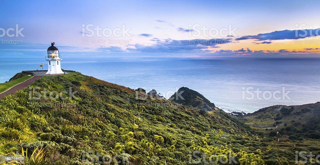 Cape Reinga, New Zealand stock photo