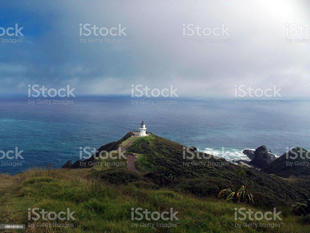 Cape Reinga, North Island, New Zealand stock photo