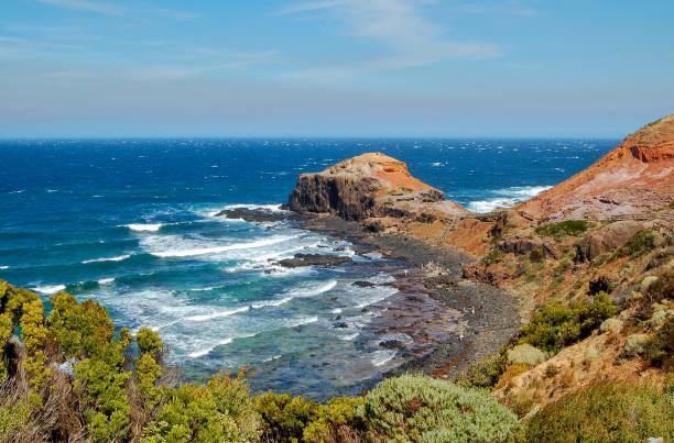 Cape Schanck - Mornington Peninsula stock photo