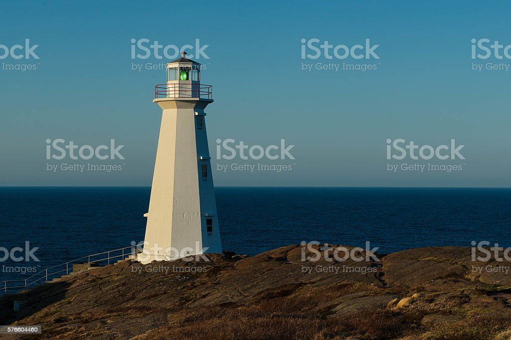 Cape Spear Lighthouse royalty-free stock photo