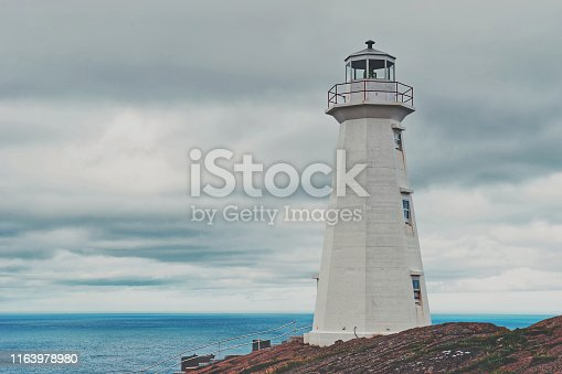 Cape Spear National Historic Site is located about 12 km southeast of St John's. Easternmost point in Canada.