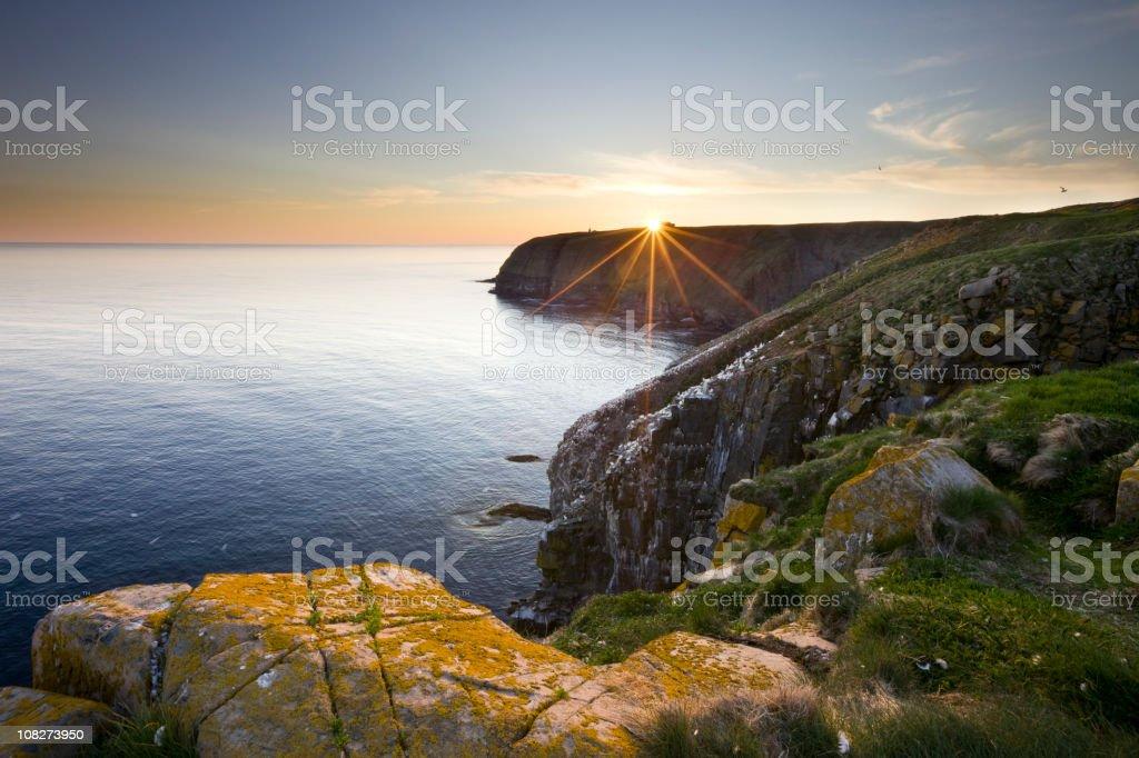 Cape St. Mary's Newfoundland stock photo
