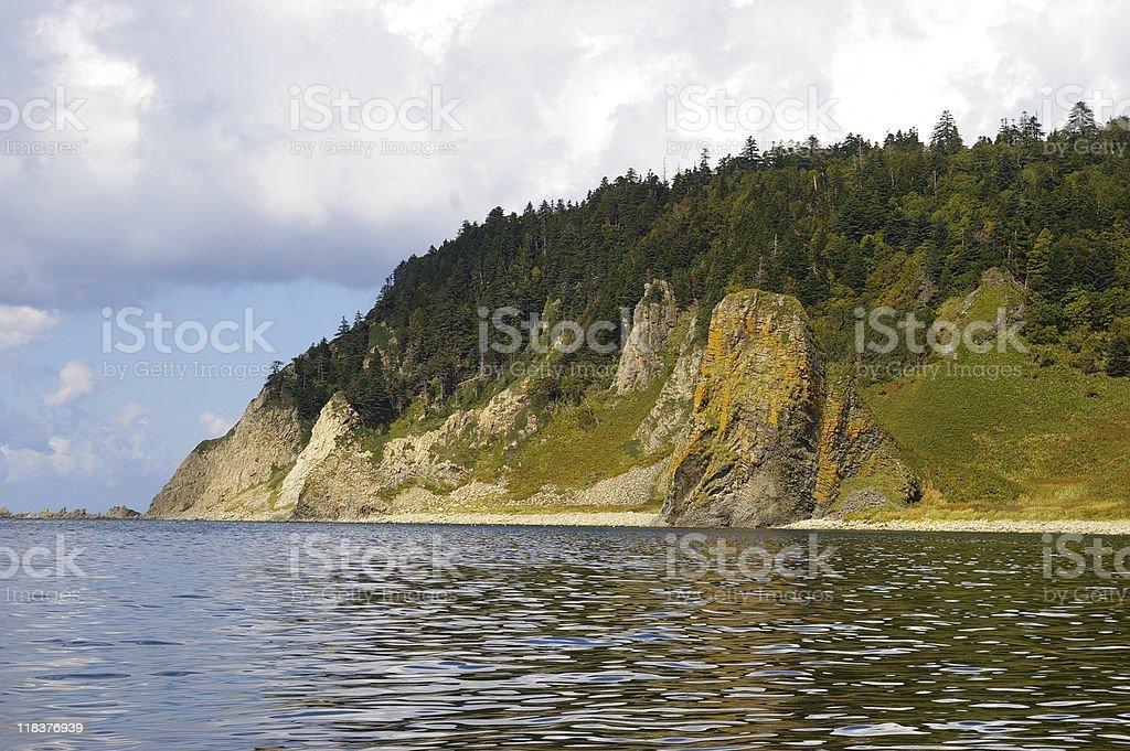 Cape Stolbchatyy. royalty-free stock photo
