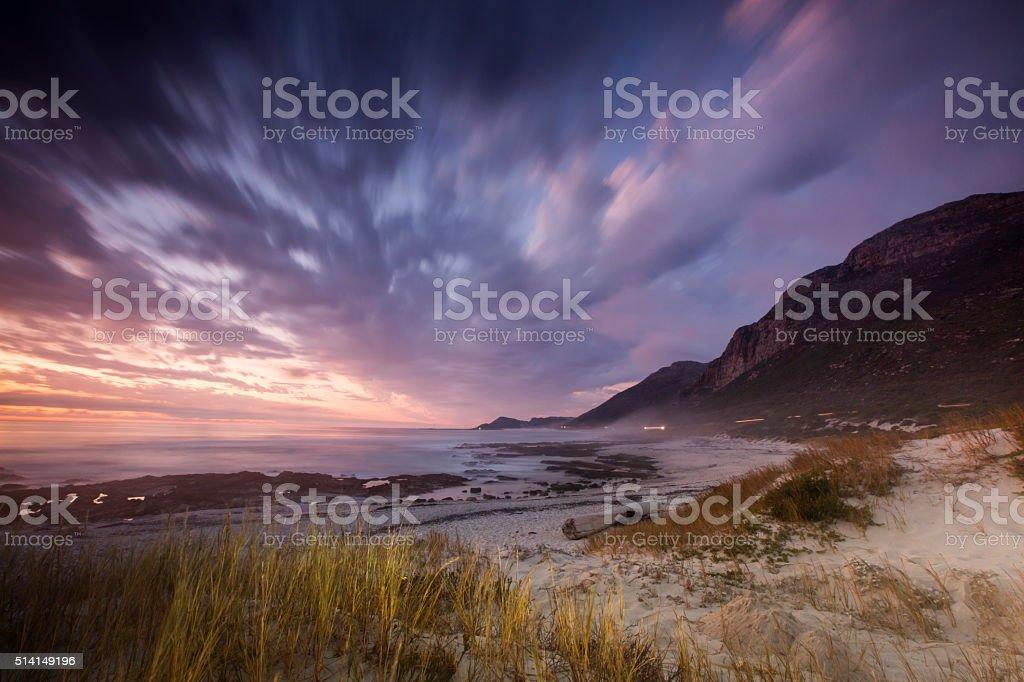 Cape Town Beach stock photo