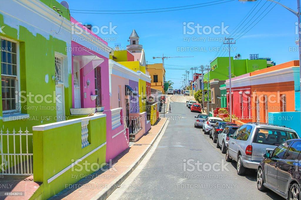 Cape Town Bo-Kaap stock photo
