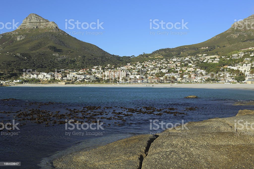 Cape Town Camps Bay South Africa royalty-free stock photo