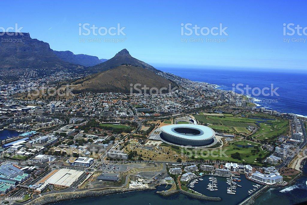 Cape Town cityscape stock photo