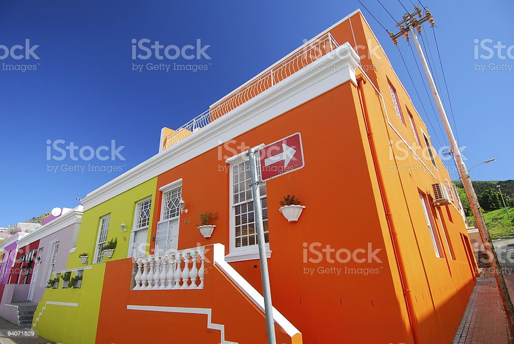 Cape Town colours stock photo
