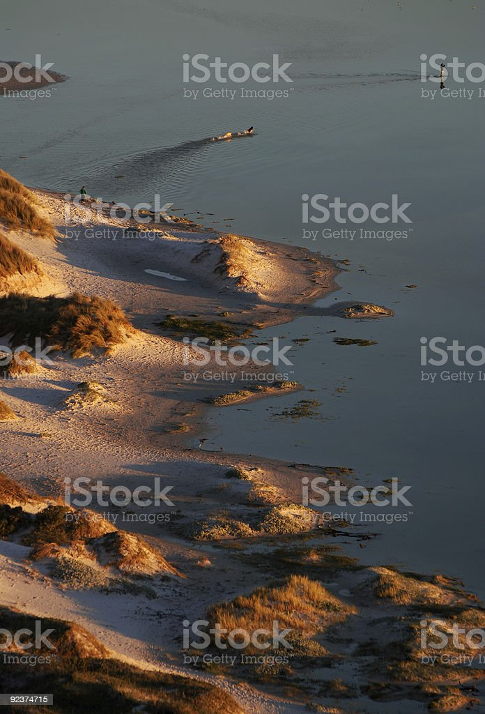 Cape Town Dunes royalty-free stock photo