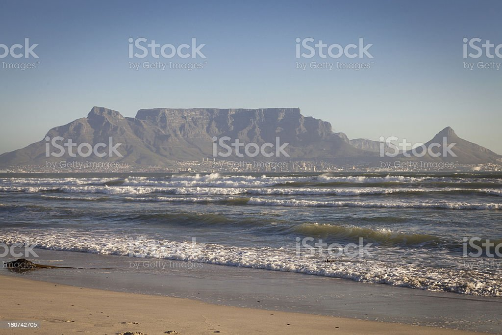Cape Town Landscape, South Africa. royalty-free stock photo