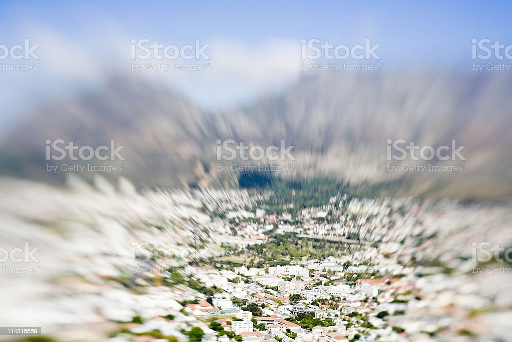 Cape Town, South Africa royalty-free stock photo