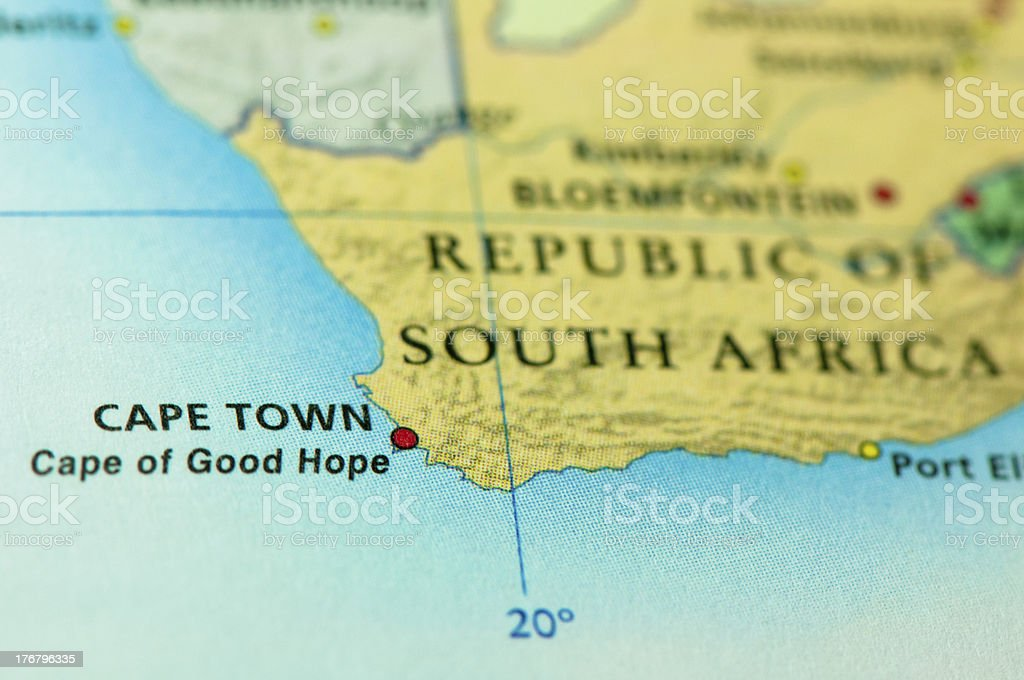 Cape Town - South Africa royalty-free stock photo