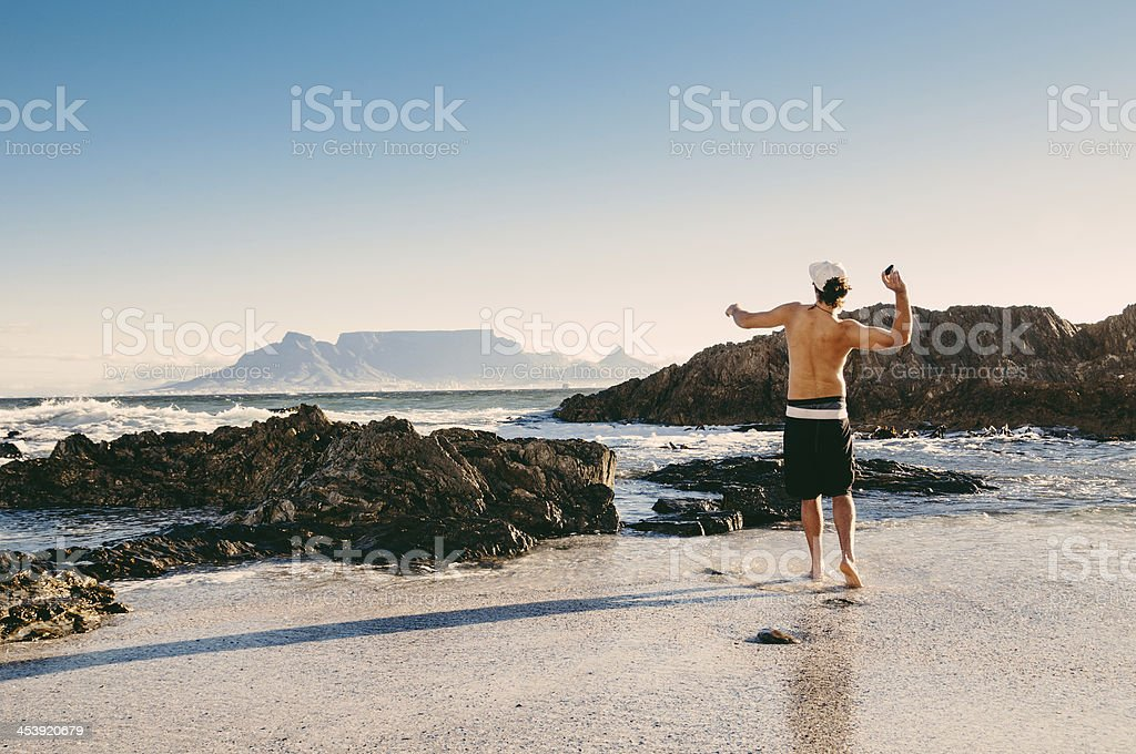 Cape Town South Africa stock photo