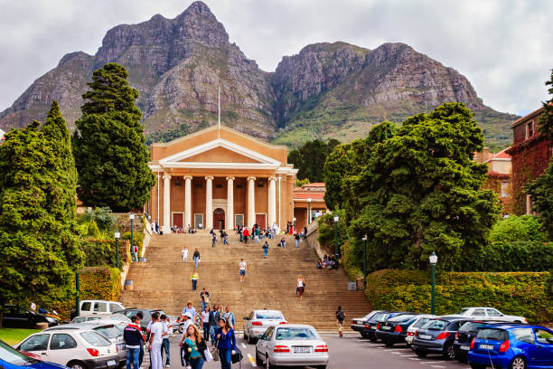 Cape Town, South Africa: The Main Building Of The University Of Cape Town, With The Hills In The Background; It Is The Oldest Institution Of Higher Learning In The Country stock photo