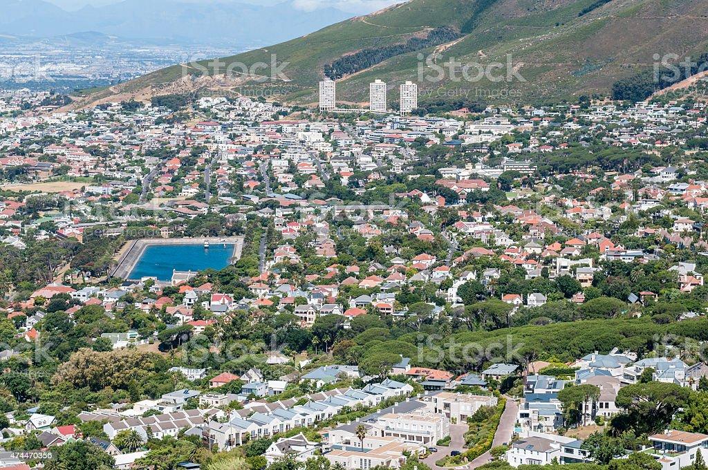 Cape Town: Tamboerskloof, Gardens, Oranjezicht and Vredehoek sub stock photo