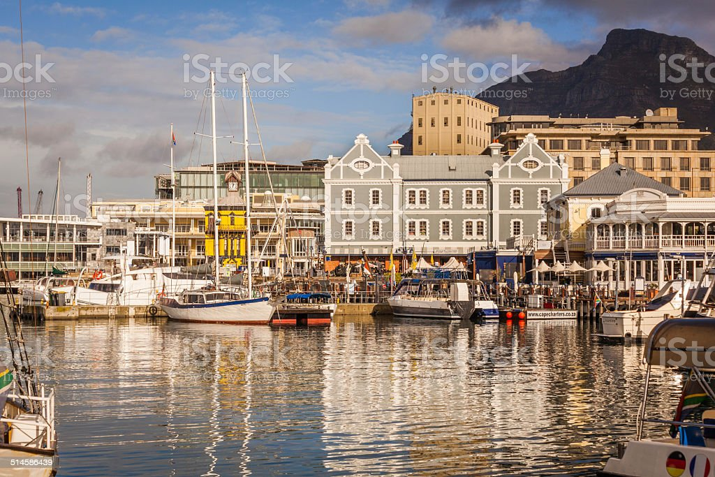 Cape Town Victoria and Albert Waterfront stock photo