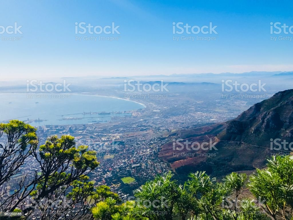 Cape Town View stock photo