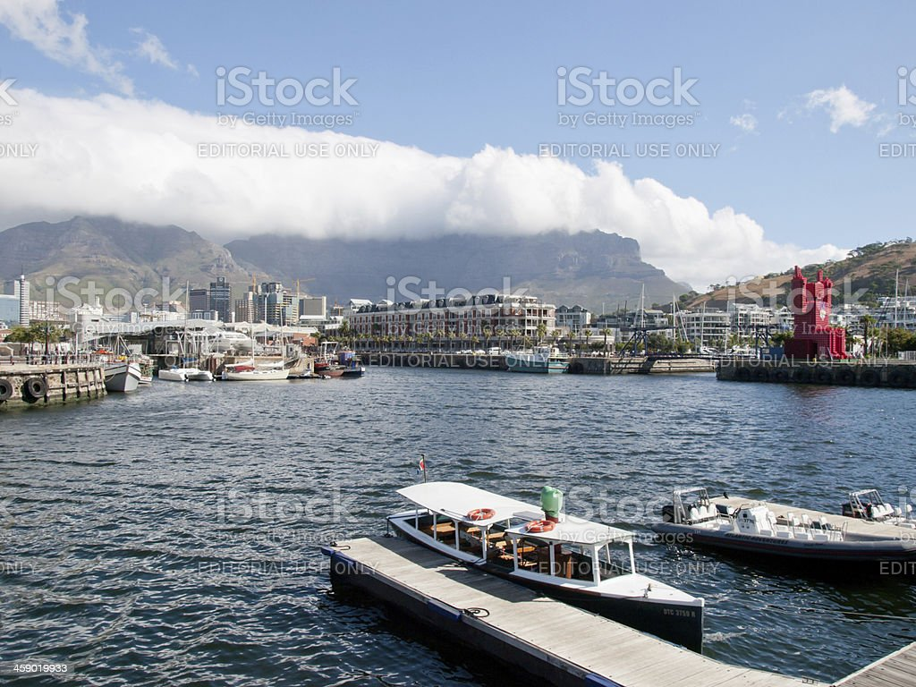 Cape Town Water Front stock photo