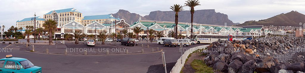 Cape Town Waterfront royalty-free stock photo
