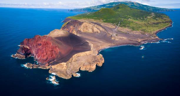 Vulkan Capelinhos in Azoren, Faial – Foto