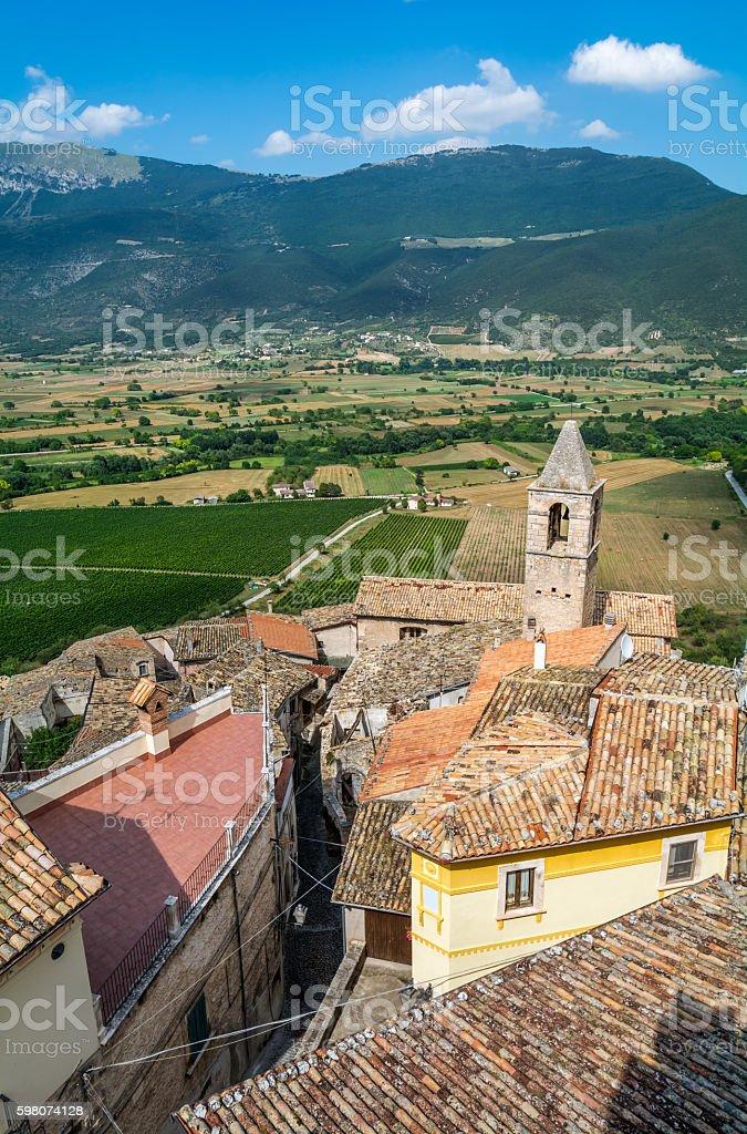 Capestrano, L'Aquila Province, Abruzzo (Italy) - foto de stock