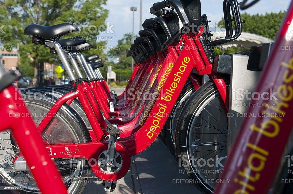 Fahrradverleih Capital bikeshare Programm in Washington, DC – Foto