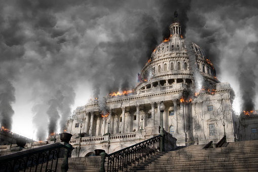 Contact Capital One >> Capital Building In Dc Completely Destroyed And On Fire ...