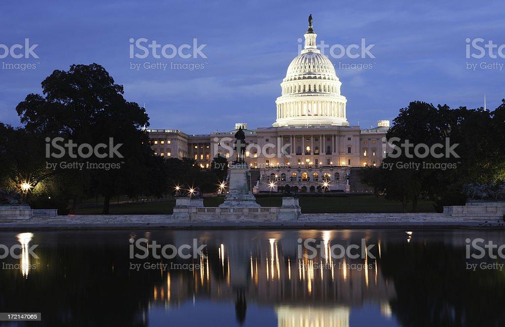 U.S. Capital Building royalty-free stock photo