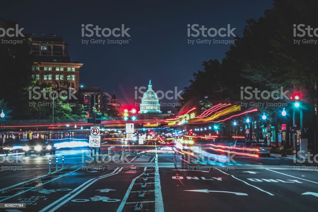Capital City Whoosh stock photo