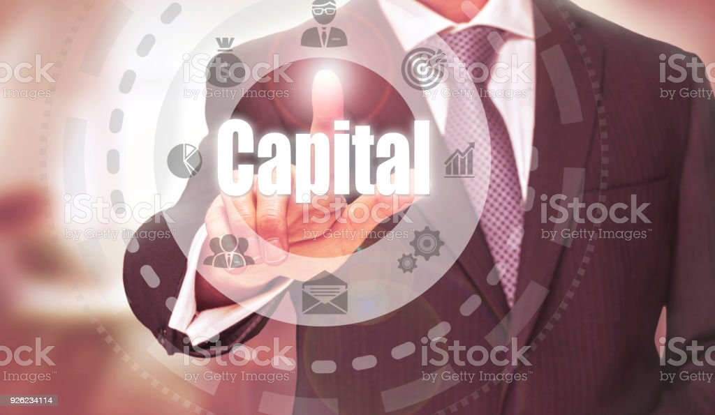 Capital Concept stock photo