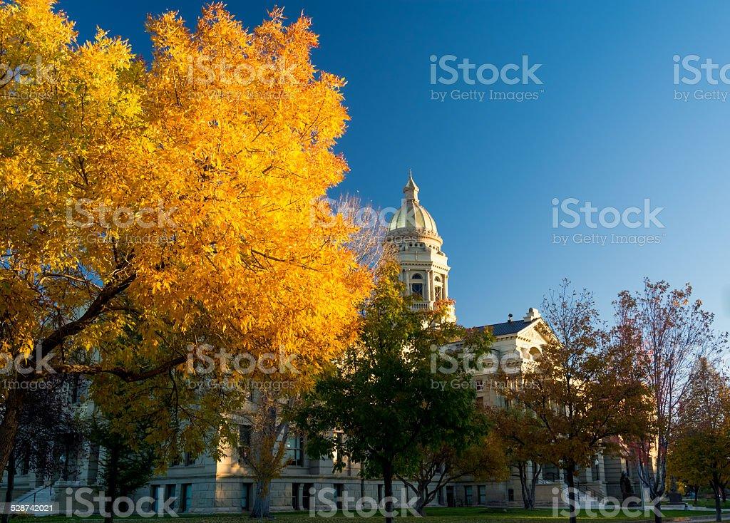 Capital Copper Dome stock photo