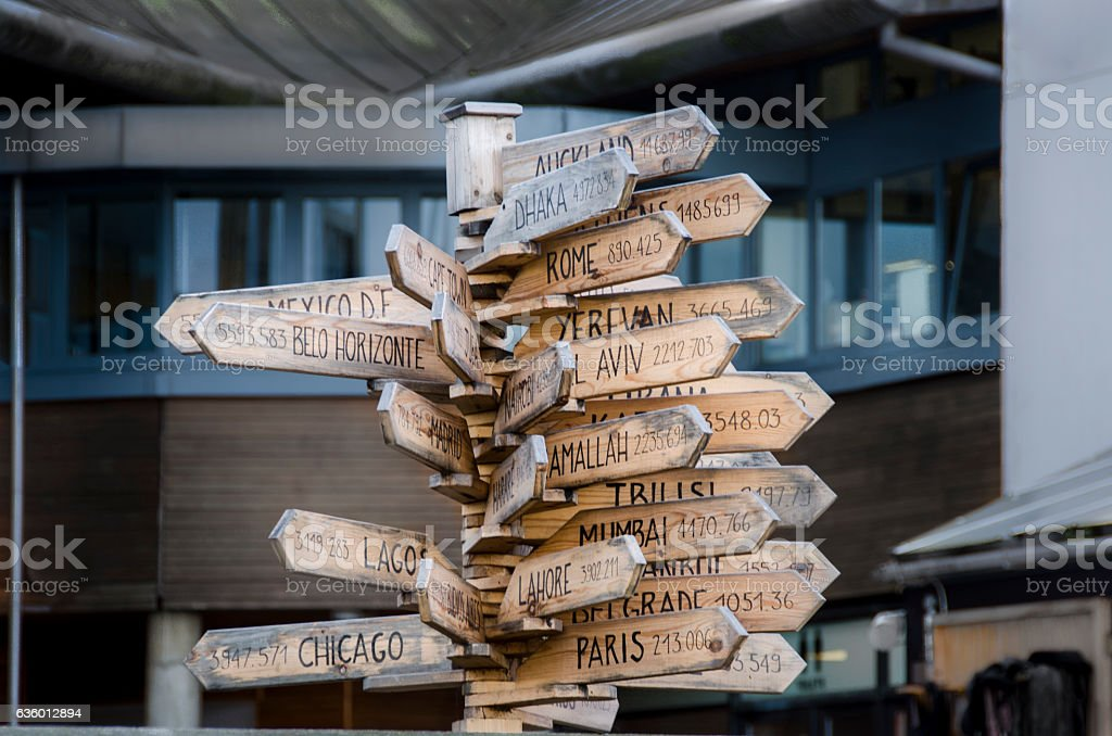 Capital Destinations stock photo